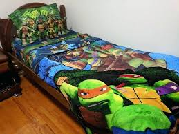 ninja turtle bed set