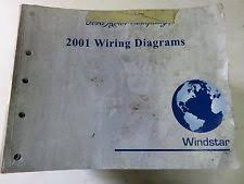 ford windstar manual 2001 ford windstar electrical wiring diagrams service manual factory oem