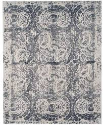 pottery barn area rugs printed wool rug gray in kitchen