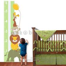 Pink N Blue Baby Animal Growth Chart Growing Your Baby