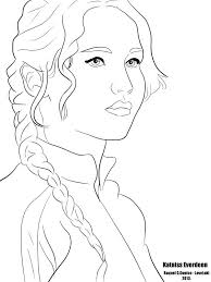 Small Picture Hunger Games Coloring Pages Coloring Home