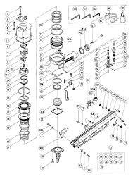 hitachi 83a3. nr83a - pneumatic framing nailer parts schematic hitachi 83a3