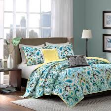 madison park ca blue ikat bedding paisley by madison park bedding bed sets
