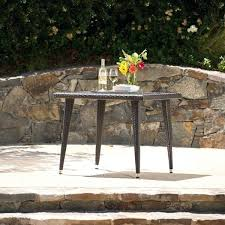 36 inch square dining table outdoor aluminum wicker inch square dining table by knight home 36
