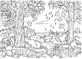 Small Picture Fall Coloring Pages to Print Toddlers Preschoolers Leaf