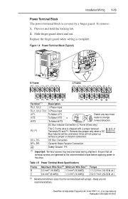 manual power flex 40 en PowerFlex 40 Parameter Sheet 23 installation wiring 1 13 powerflex 40
