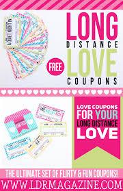 long distance love free printable