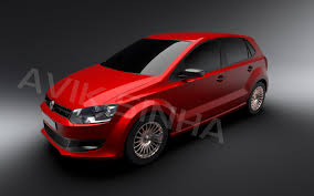 Volkswagen Polo | 3D CAD Model Library | GrabCAD