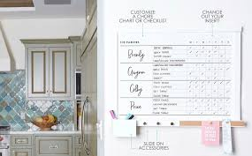 Dorm Room Chore Chart Wall Organization Center 101 Erin Condren