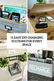 easy diy charging stations for every space cover