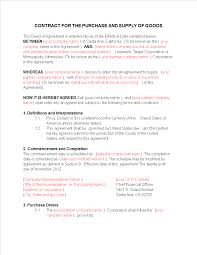 But this is a risky way to do business. New Business Contract Sample Templates At Allbusinesstemplates Com