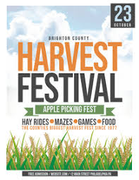 Design Harvest Festival Flyers In Minutes Postermywall