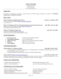 Awesome Example Resume Objective For Manufacturing At Resume Sample