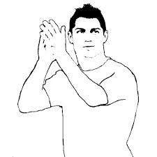 Disegno Di Ronaldo Da Colorare Per Bambini Disegnidacolorareonlinecom
