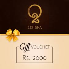 o2 spa gift voucher rs 2000