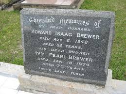 Howard Isaac Brewer (1889 - 1942) - Genealogy