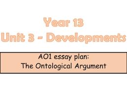 edexcel a level religious studies revision bundle by nslater  edexcel legacy a level religious studies ao1 essay plan for the ontological argument unit