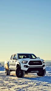 toyota iphone wallpaper.  Toyota Toyota Tacoma TRD Chicago Auto Show 2016 Offroad White Vertical In Iphone Wallpaper P