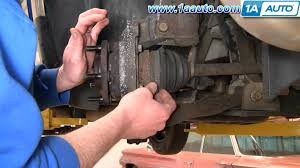 how to install replace front wheel bearing hub chrysler town and how to install replace front wheel bearing hub chrysler town and country 96 07 1aauto com