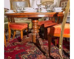 Details Zu Antiker Antiquität Tisch Mahagoni Runder Tisch Spieltisch Esszimmer Küche Villa