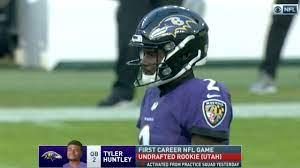 Tyler Huntley FULL NFL Debut Highlights ...