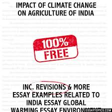 impact of climate change on agriculture of essay impact of climate change on agriculture of hide essay types