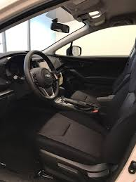 2018 subaru crosstrek interior. modren subaru whitecrystal white pearl 2018 subaru crosstrek left front interior photo  in lethbridge ab and subaru crosstrek interior