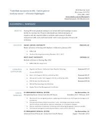 New Grad Rn Resume Resume Templates