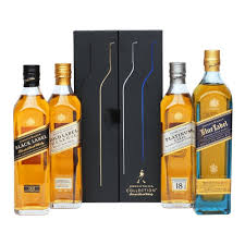 johnnie walker whisky collection 4x20cl