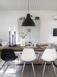 black or white furniture. dining room inspiration l 10 stylish rooms white chairsblack black or furniture e