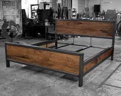 denver colorado industrial furniture modern king. Kraftig Bed Number 4 With Walnut Denver Colorado Industrial Furniture Modern King C