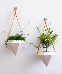 shining modern hanging planters incredible decoration nalles