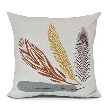 E By Design Pillows Amazon Com E By Design Pf885or16 26 Feather Study