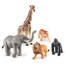 plastic zoo animals toys. Simple Plastic Learning Resources Jumbo Jungle Animals For Plastic Zoo Toys T