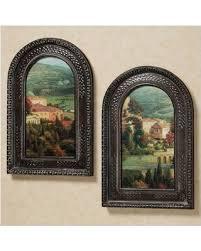 italian overlook wall art set set of two on set of two framed wall art with savings on italian overlook wall art set set of two