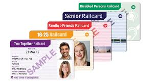 exles of rail cards