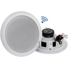 pyle pro pdicbt552rd dual 5 25 bluetooth ceiling wall speakers