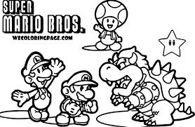 Mario Brothers Coloring Book Drfaullcom