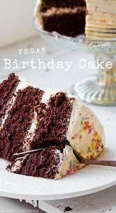Vegan Birthday Cake Vegan Recipe