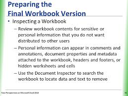 Tutorial 12 Collaborating on a Shared Workbook - ppt video online ...