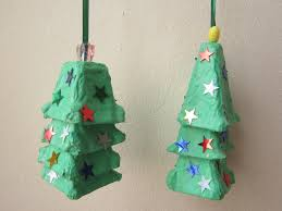 Paper Crafts For Children » Egg Carton Christmas TreeChristmas Crafts With Egg Cartons