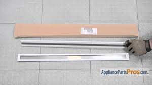refrigerator door shelf bar part wpw10421486 how to replace