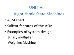 Algorithmic State Machines Ppt Video Online Download