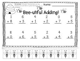addition subtraction practice pages with cut apart counters ...