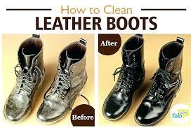 fix scuffed leather resre fake boots home improvement