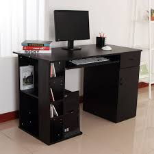 home office computer furniture. Unique Home Home Office Computer Desk Study PC Table W Storage Printer Shelf Keyboard  Tray Intended Furniture A