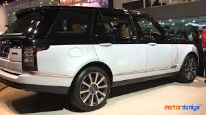 2018 land rover range rover 5 0l v8 supercharged sv autobiography. perfect range land rover range sv autobiography lwb  auto expo 2016 motor duniya   youtube in 2018 land rover range 5 0l v8 supercharged sv autobiography l