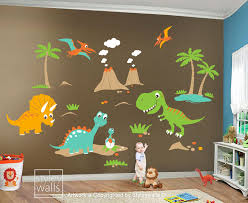zoom on dinosaur bedroom wall stickers with dinosaurs wall decal dinosaurs wall sticker dinosaurs roo