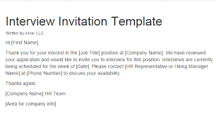 Reply To Interview Invitation Email Sample Pin By Ihire On Employer Hiring Manager Tools Interview