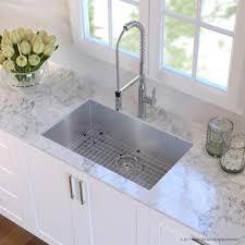 White undermount kitchen sinks Rectangular Quickview Wayfair Find The Perfect Undermount Kitchen Sinks Wayfair